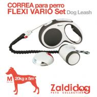 Zaldi flex dog leash with LED
